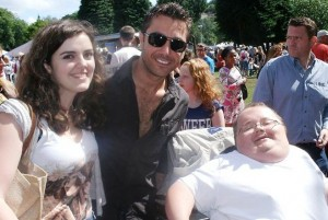 Alice and I were fortunate enough to meet Gino D'Acampo at the Welsh Big Bite Festival 2013