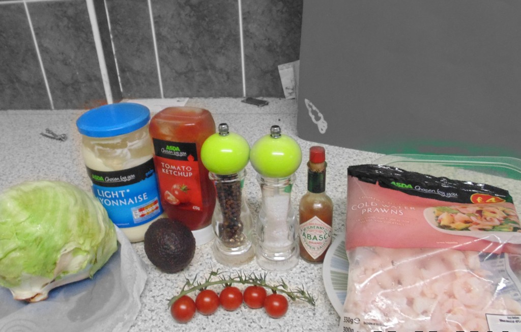 Ingredients For Pain Free Prawn Cocktail