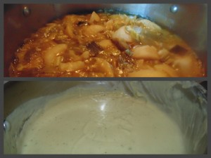 Soup at Different Stages