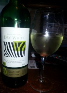 2014 South African Dry White