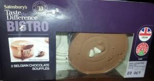 Sainsbury's Belgian Chocolate Soufflés