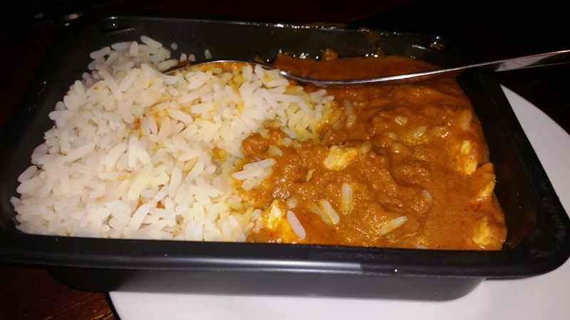 Ready Meal Monday – Tesco Everyday Value Chicken Curry and Rice