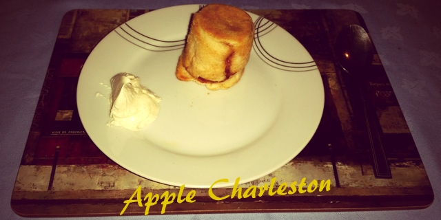 Strictly Suppers #5 – Apple Charleston (Apple Charlotte)