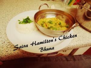 Saira Hamilton's Chicken Bhuna