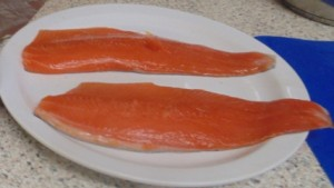 Trout Fillets the star of the Soy, Chilli and Ginger Trout With A Summer Ragu