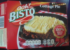 The Box for Bisto Cottage Pie