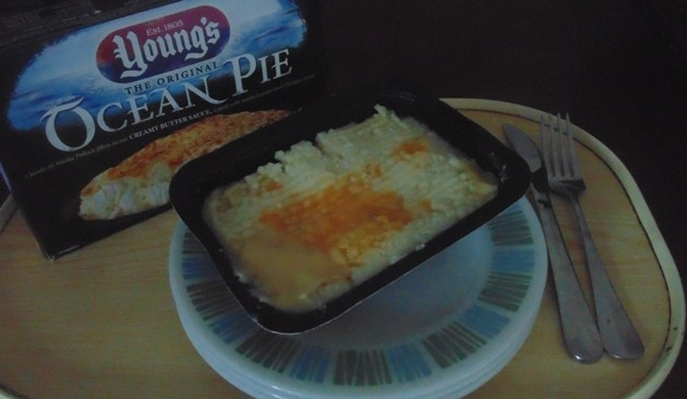 Young's Ocean Pie Served in it's Tray
