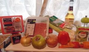 Ingredients for Pig Sty Pie
