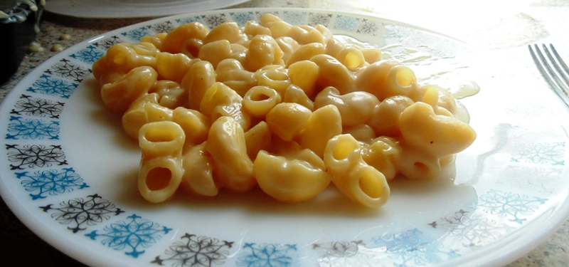 How to make macaroni cheese with bisto sauce