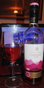 Ready Meal Monday - Wine, Chilean Cabernet Rosé