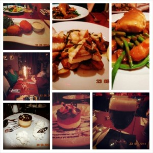 Collage Of Photographs Of The Food From Demiro's