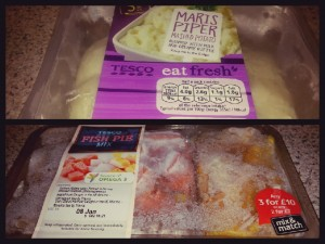 Cheats Ingredients For The Comfort Classics - Cheat's Fish Pie