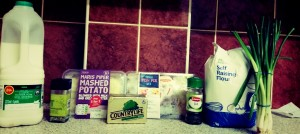 Ingredients For The Comfort Classics - Cheat's Fish Pie