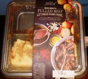 Time-Saving Tuesdays – Tesco Bourbon Pulled Beef with Sweet Onion Mash - In It's Box