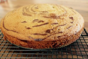 Melanie's Food Adventures – Zebra Cake - On The Cooling Rack Cooling