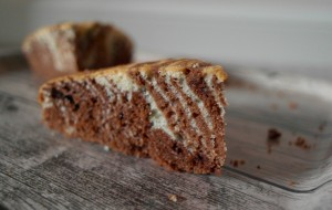 Melanie's Food Adventures – Zebra Cake - Showing The Stripes