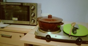 Some of the Equipment Required For Spiced Sausage Stew Ingredients