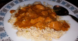 Time-Saving Tuesdays – Chicken Tikka Masala and Egg Fried Rice Plated Ready To Eat