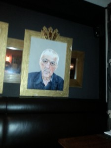 The Hardwick, Abergavenny - Some of the Famous Welsh Faces Featured On The Walls