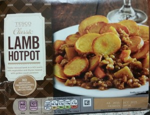 Time-Saving Tuesdays – Tesco Classic Lamb Hot Pot - In Its Box