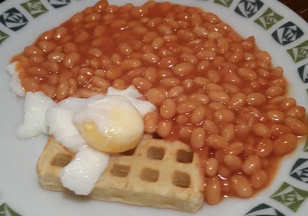 Time Saving Tuesdays Waffle Egg And Beans Wheelie Good