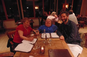 The Hardwick, Abergavenny - The Three Musketeers, My Mother, myself and Greg