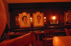 The Hardwick, Abergavenny - More famous Welsh faces that adorn the walls