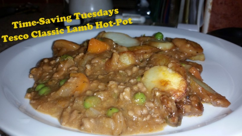 Time-Saving Tuesdays – Tesco Classic Lamb Hot Pot