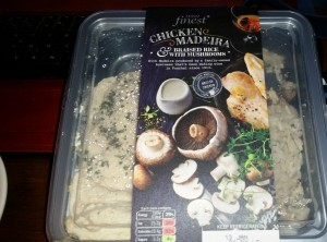 Time-Saving Tuesdays – Tesco Finest Chicken Madeira & Braised Rice With Mushrooms - In The Box
