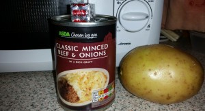 Some of the Ingredients for My Time–Saving Tuesdays – Cheat's Shepherd's Pie