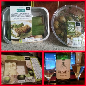 M & S Eurovision Meal Deal - Main, Side, Dessert and Wine for £10