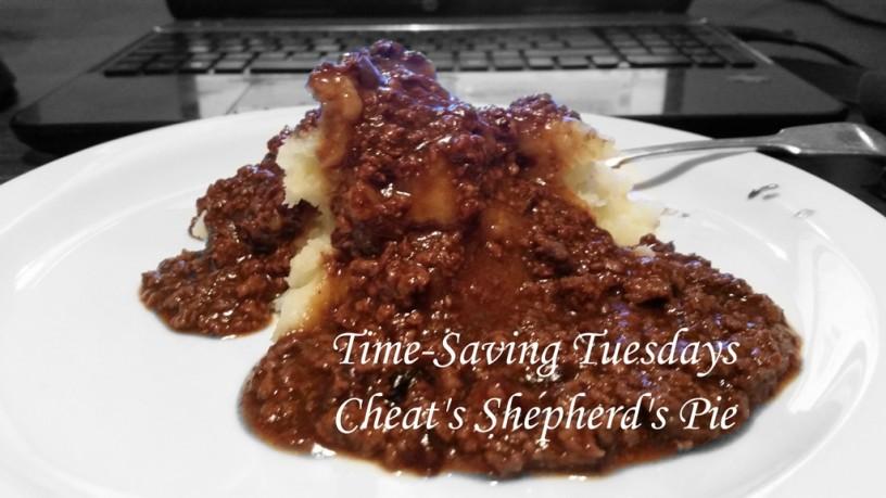 Time–Saving Tuesdays – Cheat's Shepherd's Pie
