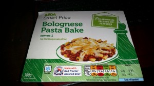 Time-Saving Tuesday – Asda Pasta Bolognese Bake