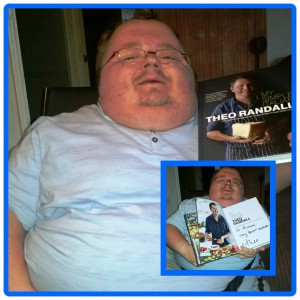 "My Autographed Copy Of Theo Randall's Book ""My Simple Italian"""
