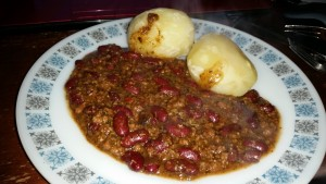 Time-Saving Tuesdays –  Cheats Chilli Con Carne and Boiled Potatoes