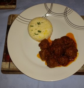 My Dean Edwards Lamb Kofta Curry and Saffron Rice From Dinner Party #2