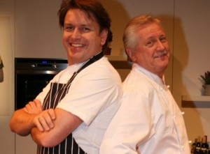Mystery Bag Meals - James Martin and Brian Turner Two Chef's From Ready Steady (picture from www.wphcancercharity.org.uk)