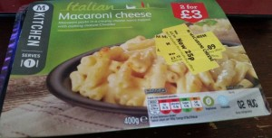 Time-Saving Tuesdays – Morrisons Macaroni Cheese - Front Packaging