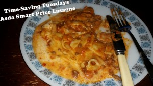Time-Saving Tuesdays – Asda Smart Price Value Lasagne Ready To Eat