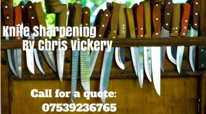 Knife Sharpening By Chris Vickery