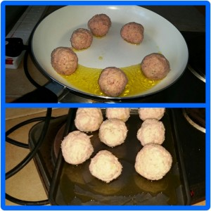 Sausage Meatballs in a Spicy Tomato Sauce - Different methods of cooking your balls!
