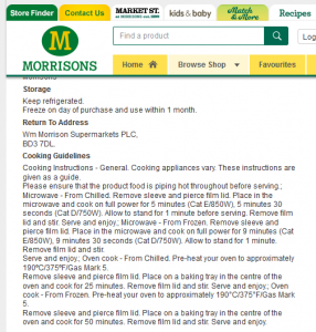 Time-Saving Tuesdays – Morrisons Macaroni Cheese - Cooking information from Morrisons website