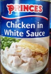 Time-Saving Tuesdays – Princes Chicken in a White Sauce, a meal in a tin