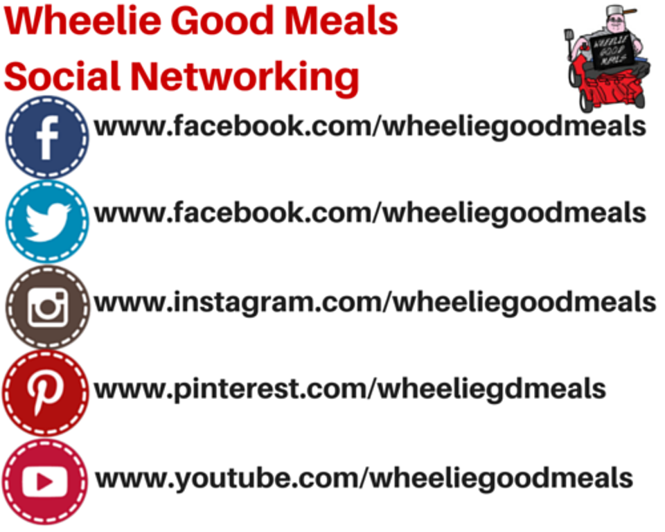 Wheelie Good Meals Social Networking