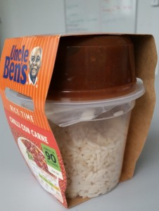 Time-Saving Tuesdays – Uncle Ben's Chilli Con Carne and Rice packet