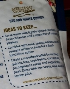 Merchant-Gourmet Red and White Quinoa ideas to keep