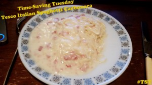 Time-Saving Tuesday – Tesco Italian Spaghetti Carbonara