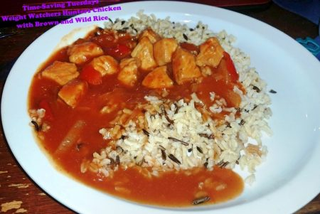 Time-Saving Tuesday – Weight Watchers Hunters Chicken with Brown and Wild Rice ready to eat