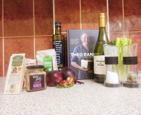 Ingredients for Theo Randall's Tomato Risotto