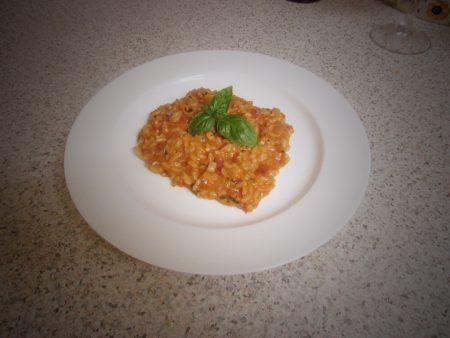 Theo Randall's Tomato Risotto